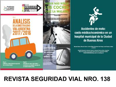 REVISTA SEGURIDAD VIAL No 138